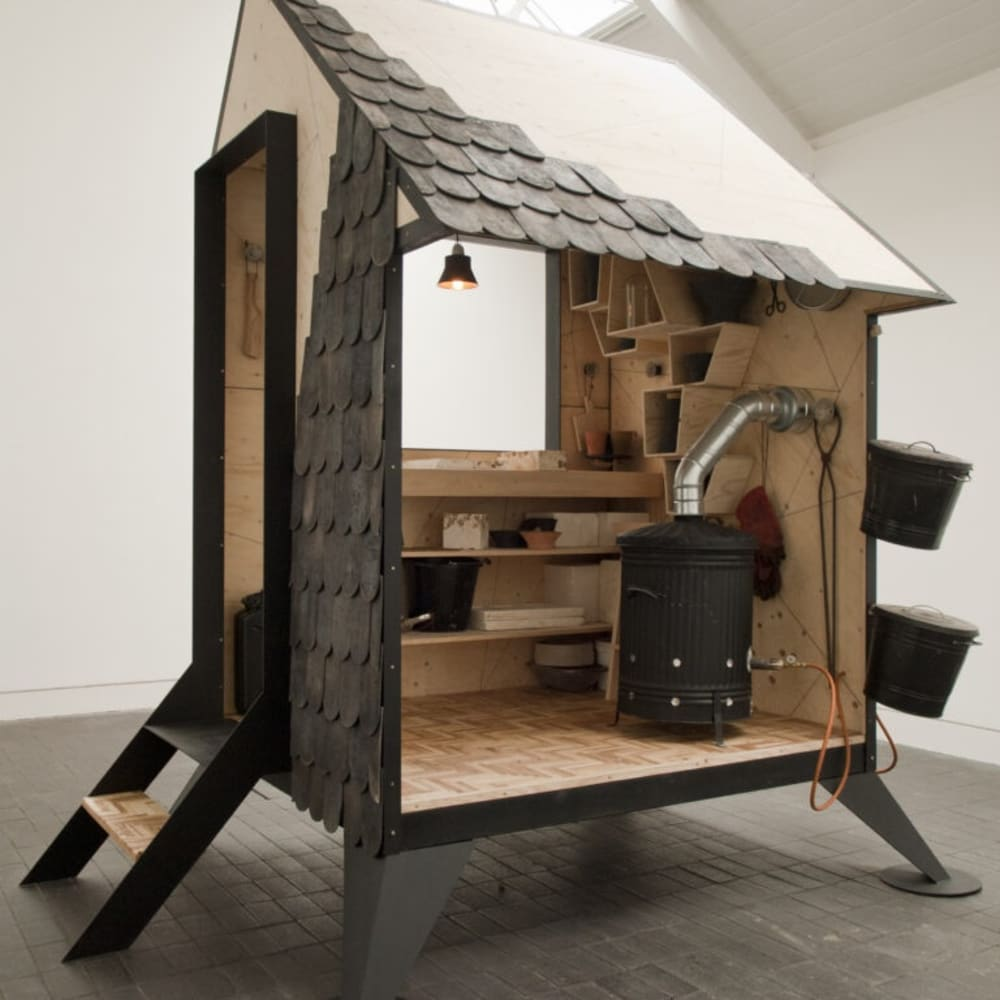 Will Shannon (b.1980), Kiln House, Jerwood Makers Open 2012. Installation shot, Jerwood Space. Photo: thisistomorrow.info