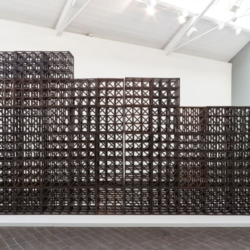 Zachary Eastwood-Bloom (b. 1980) Partition, Jerwood Makers Open, 2015. Installation Shot, Jerwood Space. Photo: Anna Arca.