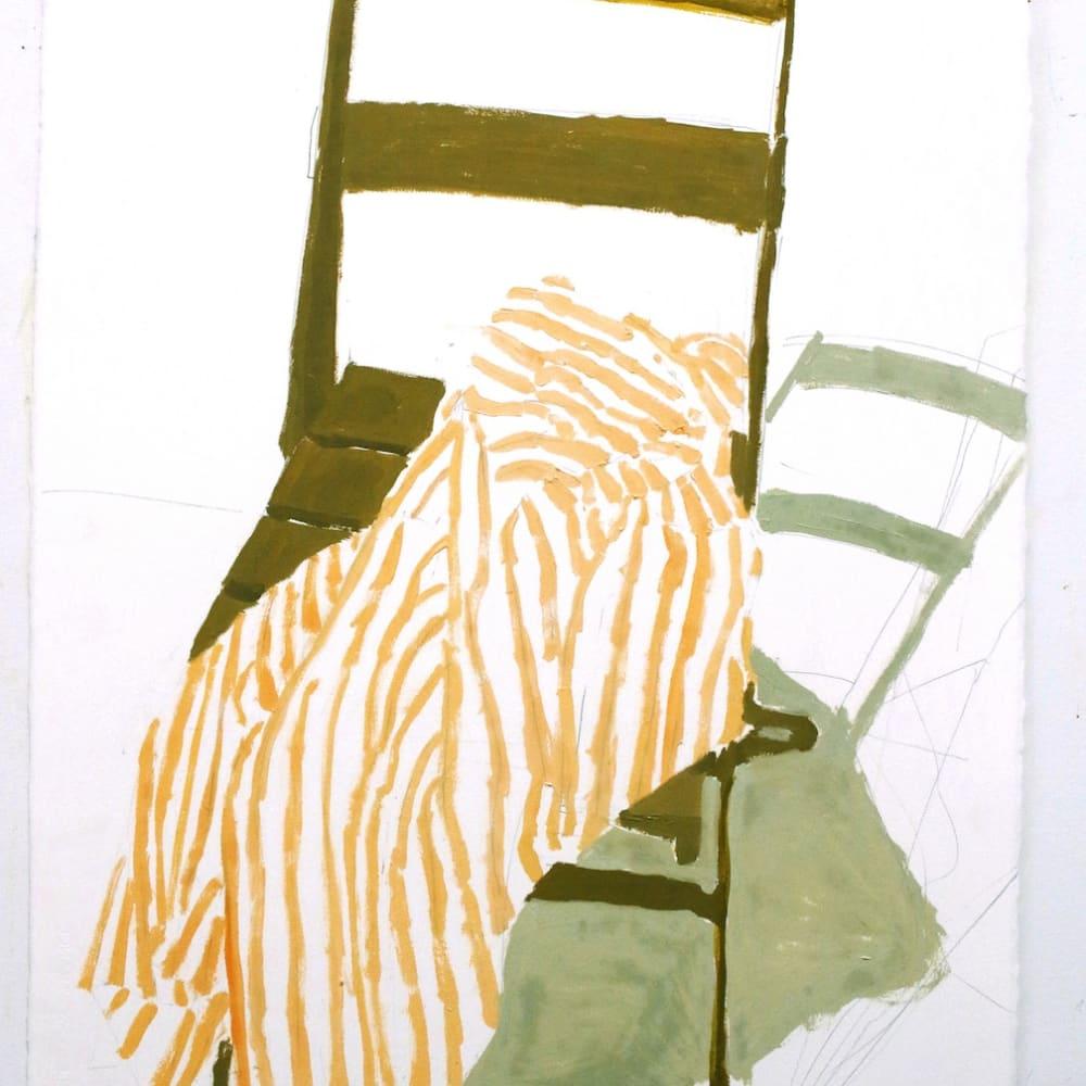 Sophie Treppendahl, Green Chair