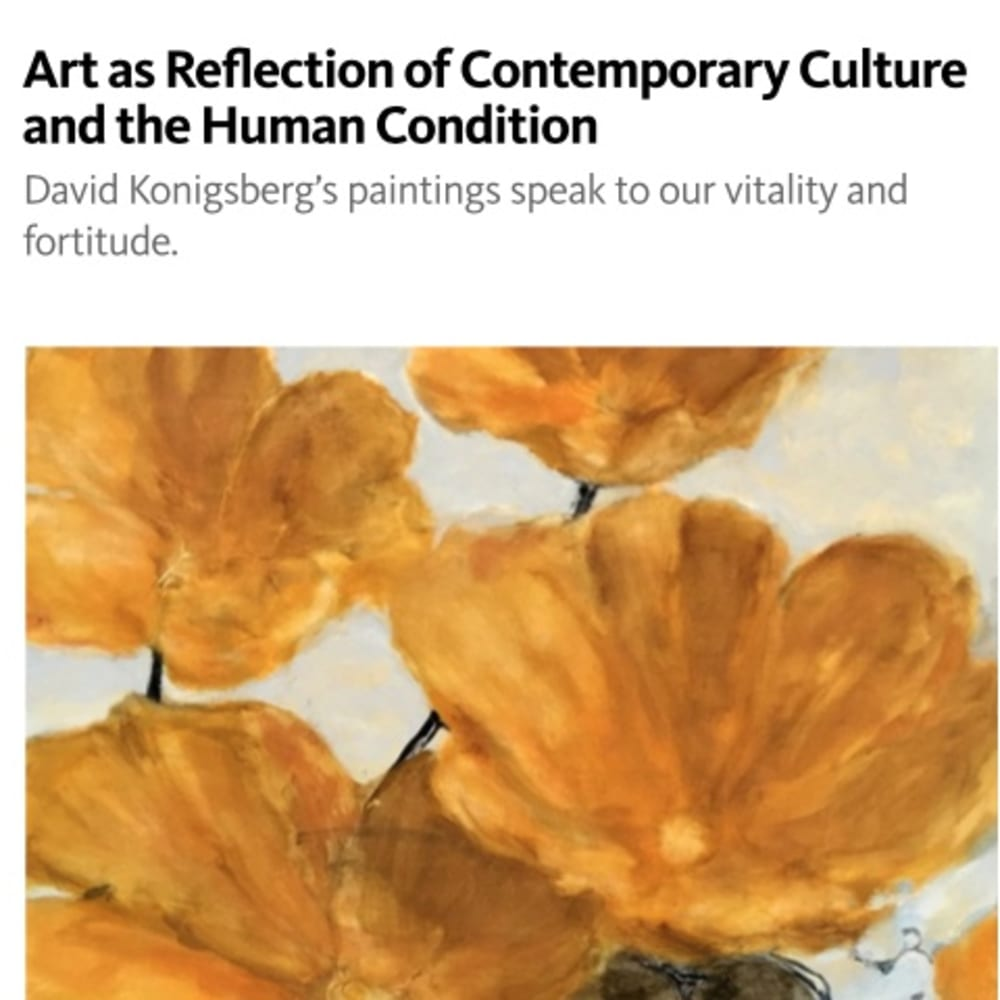 Art as Reflection of Contemporary Culture and the Human Condition