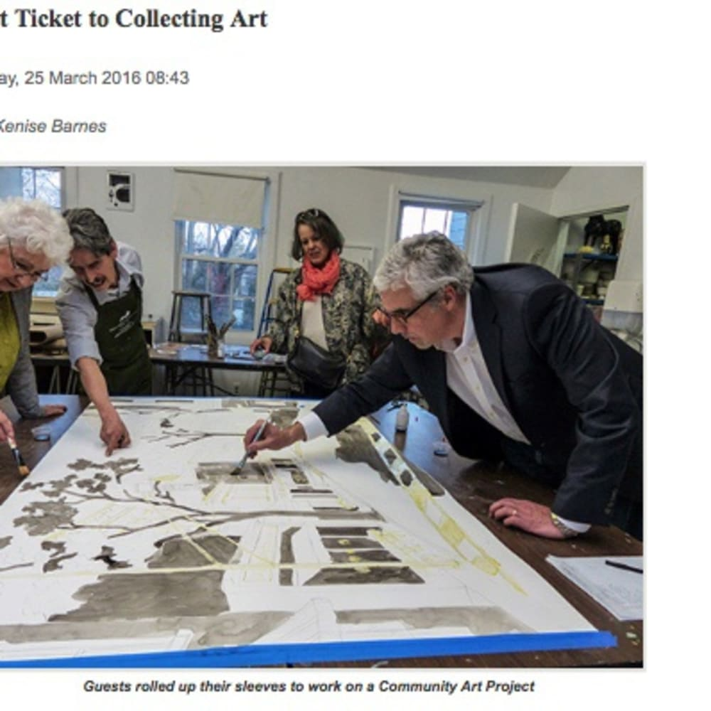 Hot Ticket to Collecting Art
