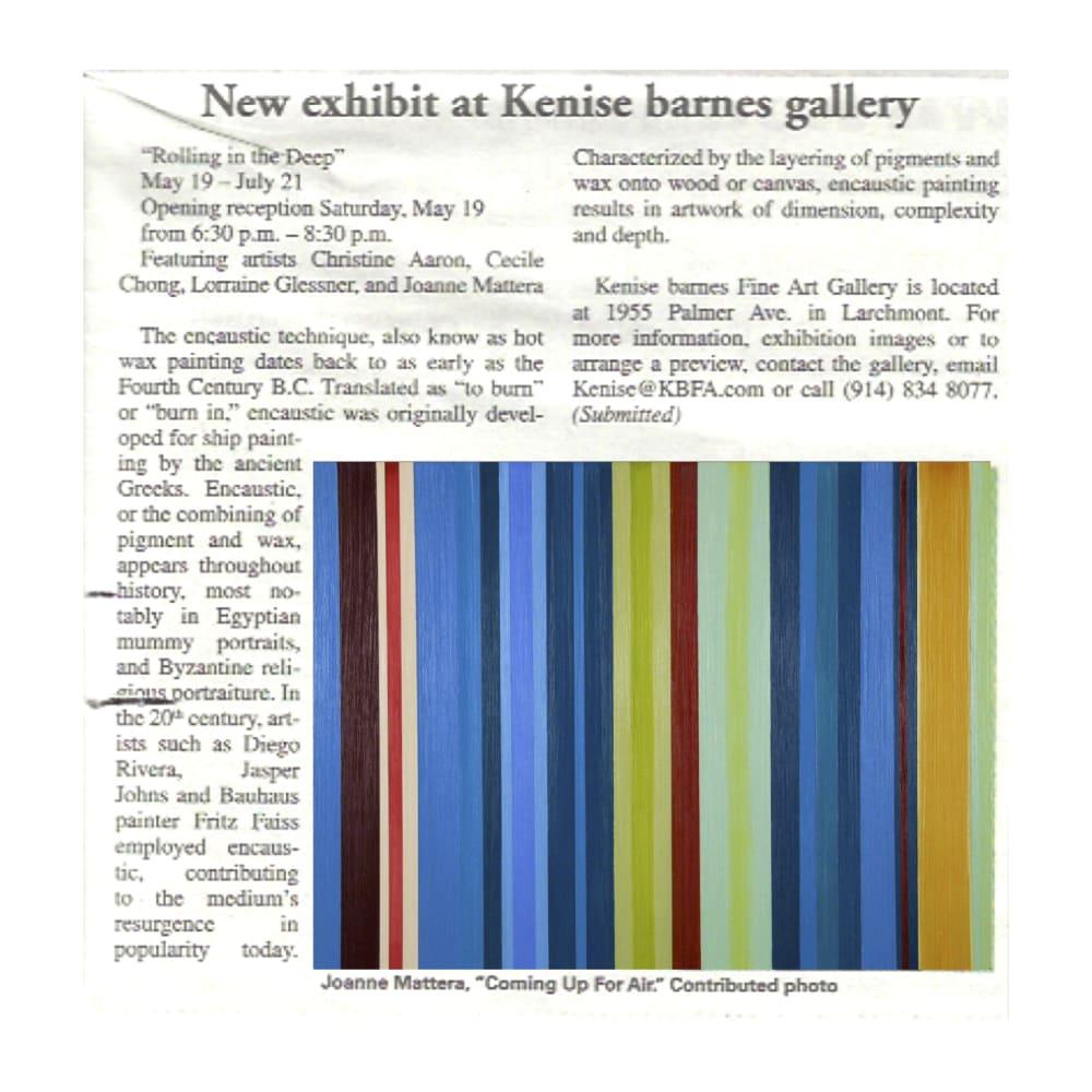New Exhibit at Kenise Barnes Gallery