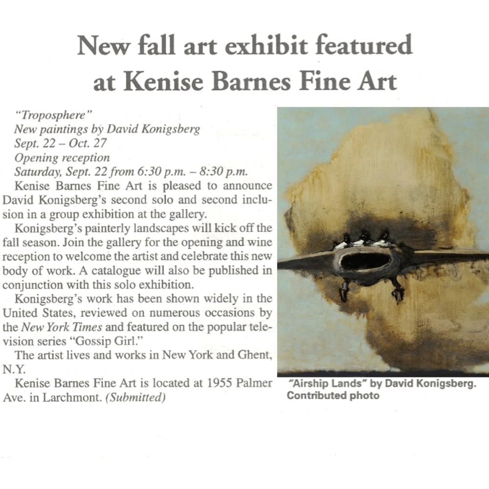 New fall art exhibit featured at Kenise Barnes Fine Art