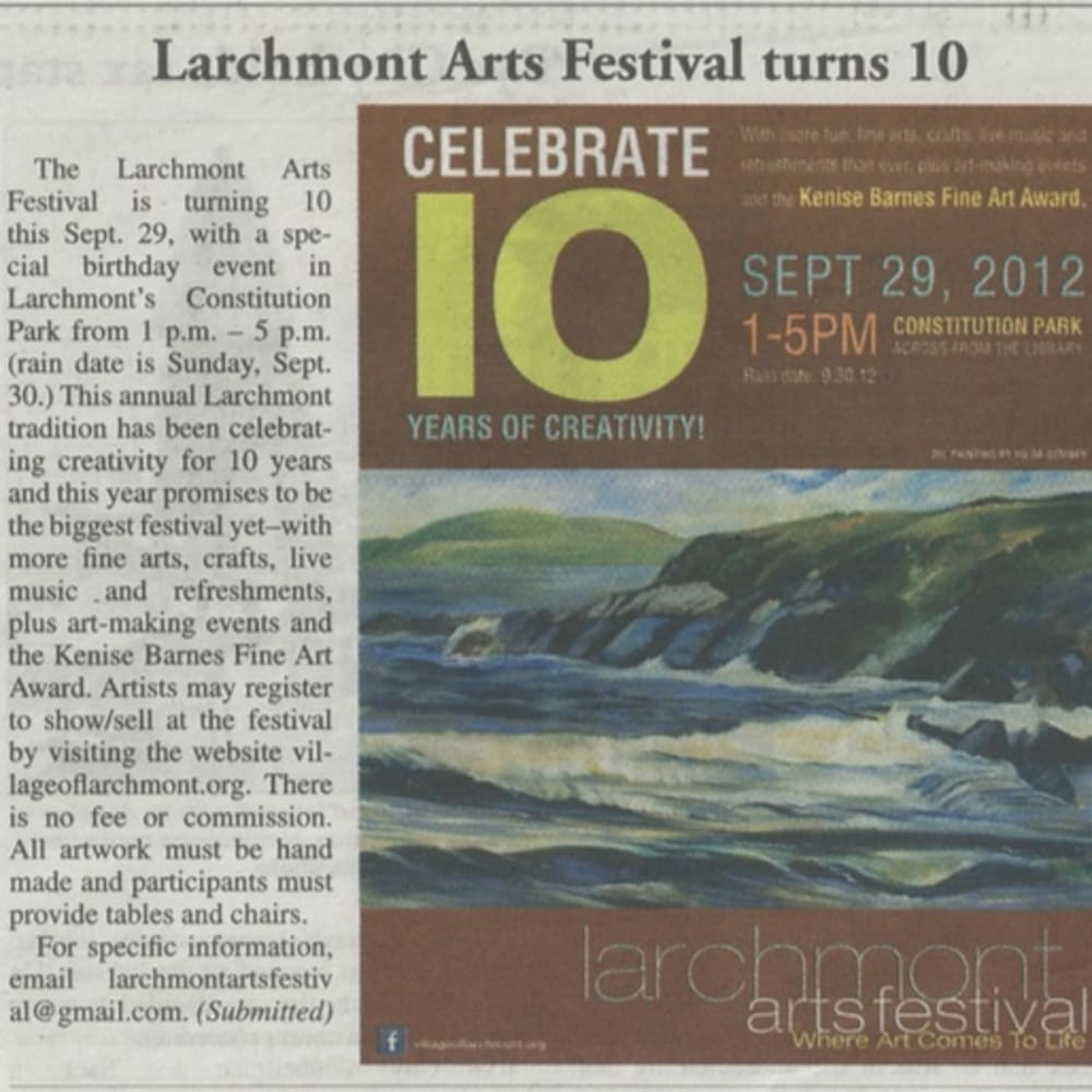 Larchmont Arts Festival turns 10