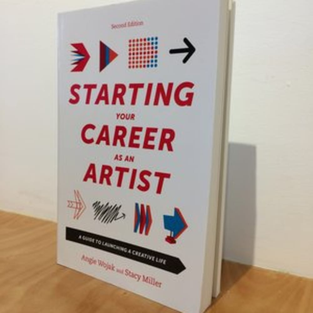 A livley and stimulating talk with authors Angie Wojak and Stacy Miller on their comprehensive book Starting Your Career as an Artist, a succinct and focused guide for artists intent on getting the most from their studio practice.