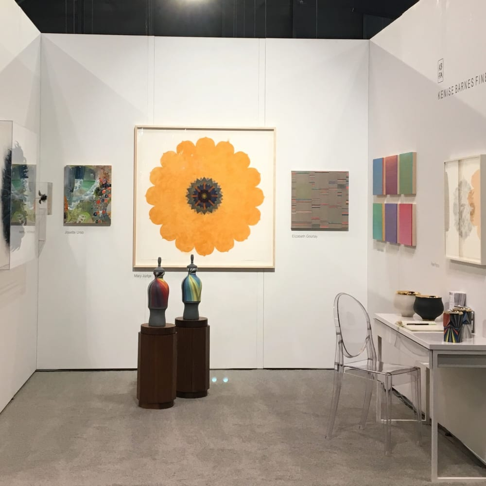 Kenise Barnes Fine Art is pleased to present works by Josette Urso, Jill Parisi, Mary Judge, Cathrine latson, Melanie Parke, Peter Pincus, Adam Rogers, Michiyo Ihara, Joanne Mattera and Janna Watson. The 30th annual ICFF was held at the Javits Center in NYC.