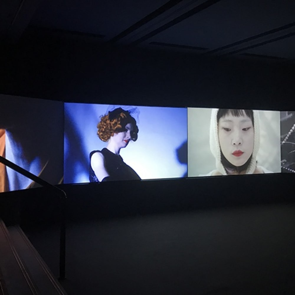 袁可如, 旦夕异客, 四屏影像装置, 27分钟 Yuan Keru, Fleeting strangers, 4-screen video installation, 27min 2017