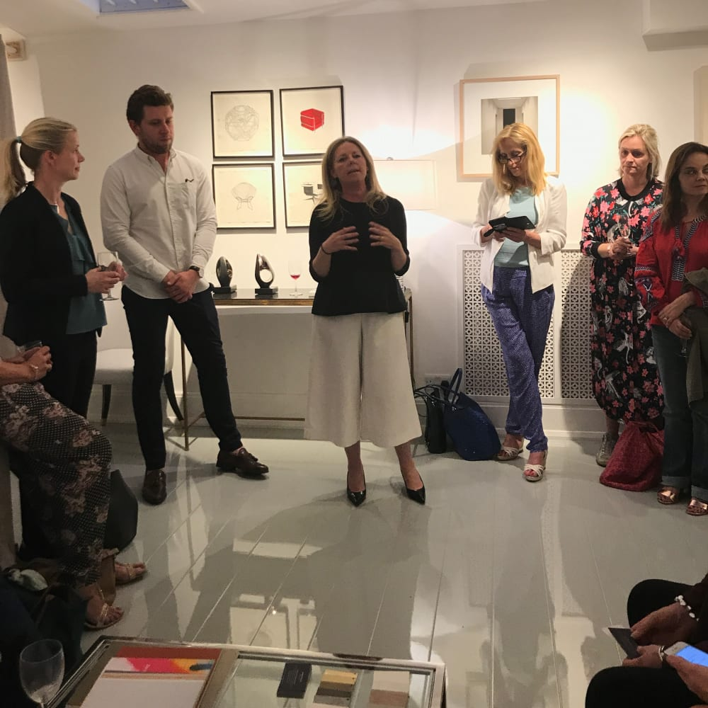 Private Preview and talk on The Art of Interiors