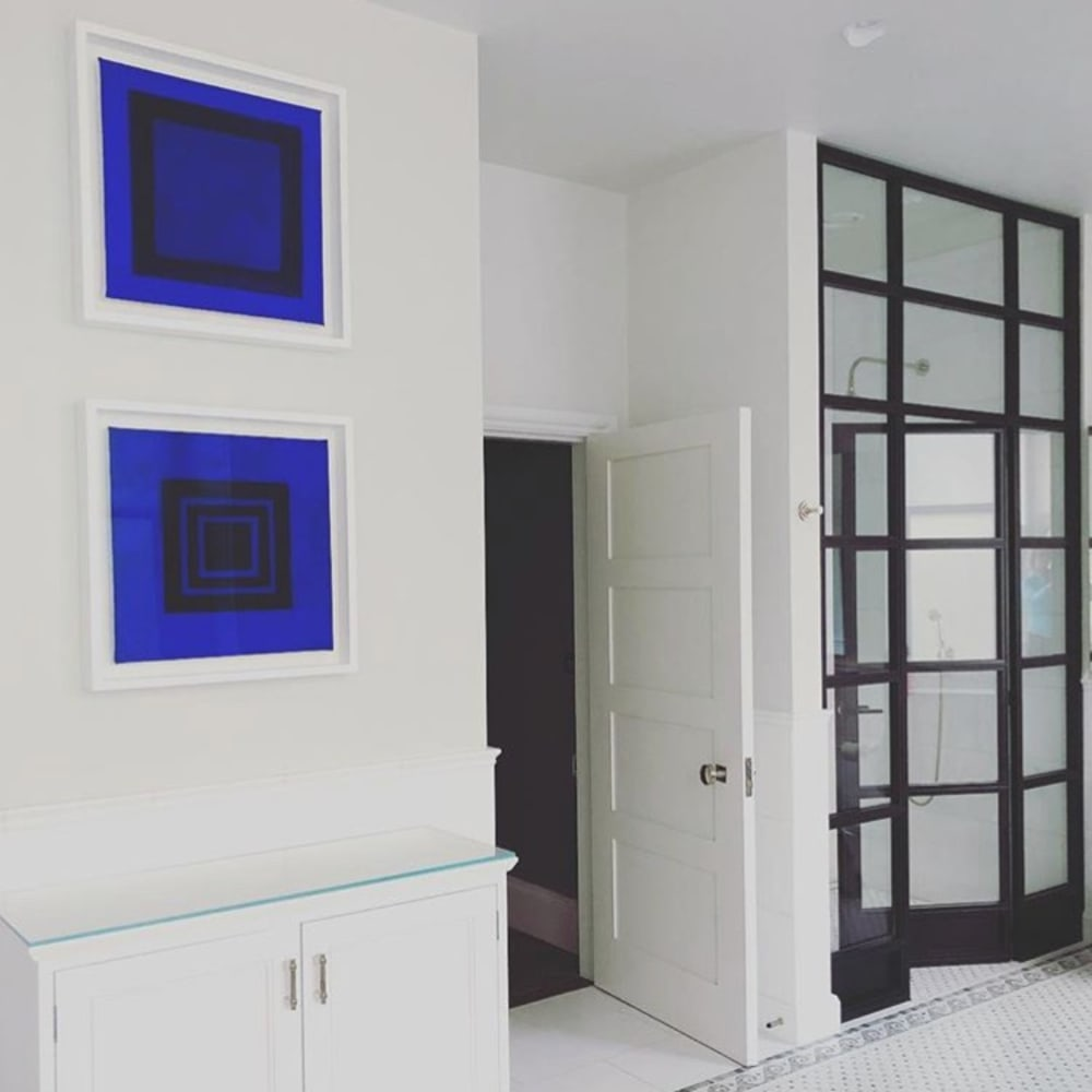 Jane Goodwin, Blue on Blue Series No. 5, Private Residence, South West London