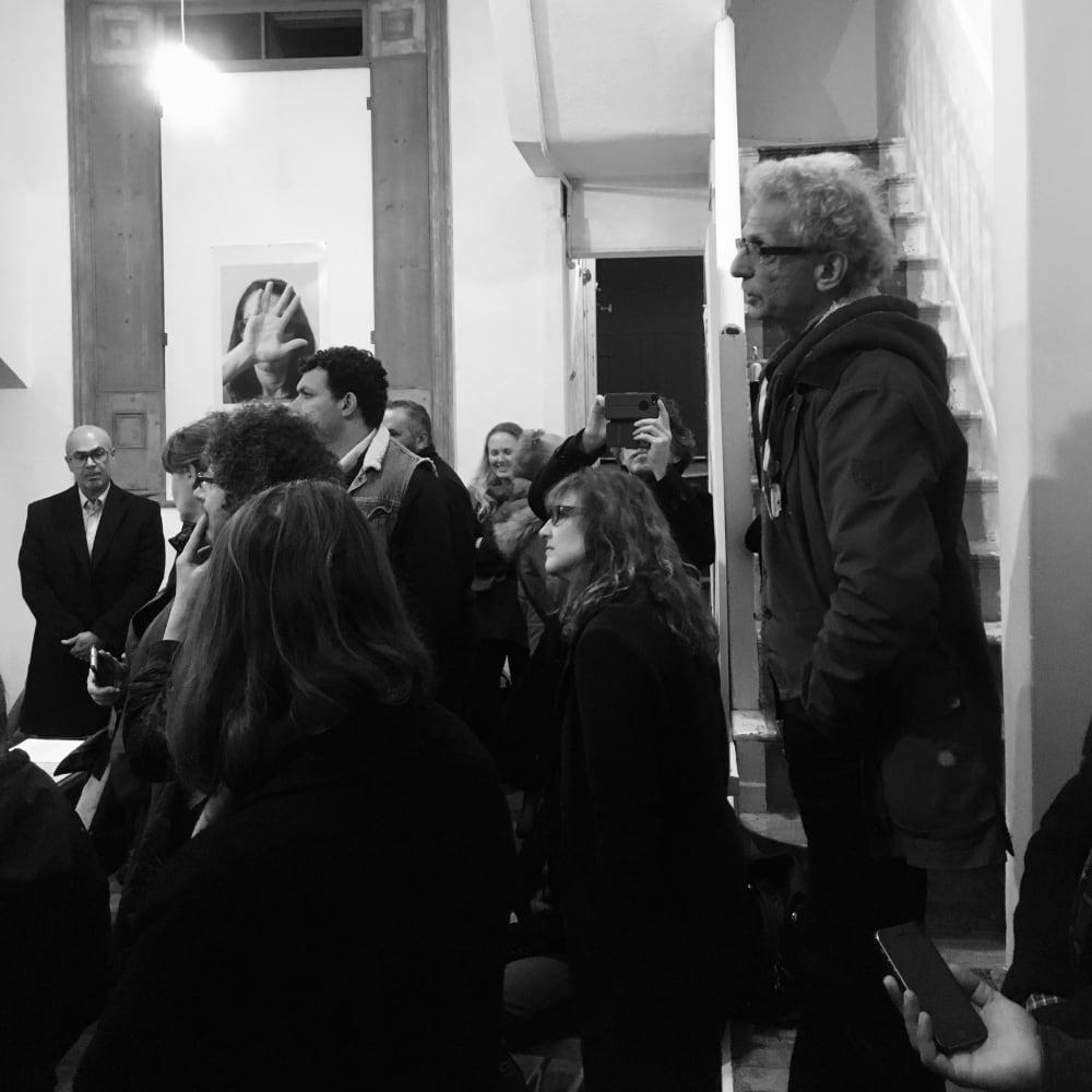 Artist Talk: Edward Hillel at MMX Gallery, Thinking Machine, November, 2017