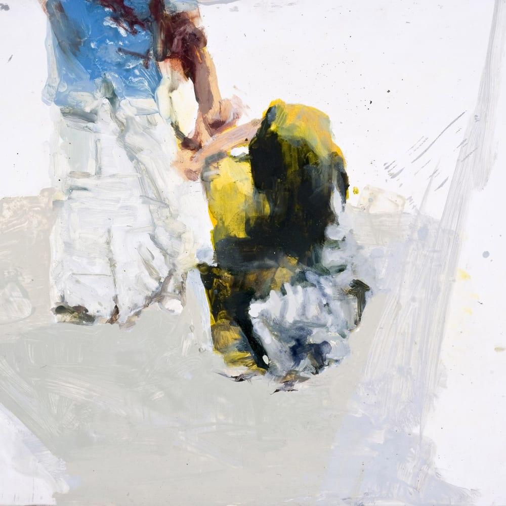 'Guidance', oil on birch panel,  41 x 61cm