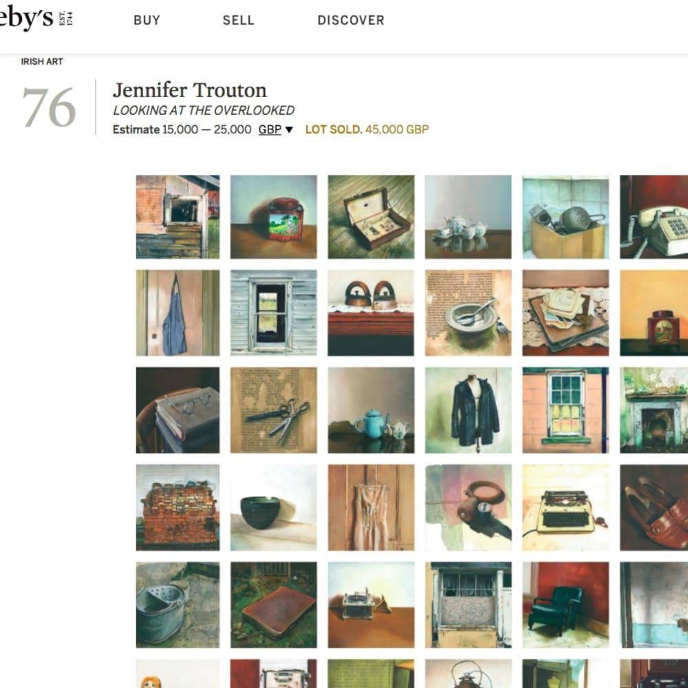 Jennifer Trouton at Sotheby's
