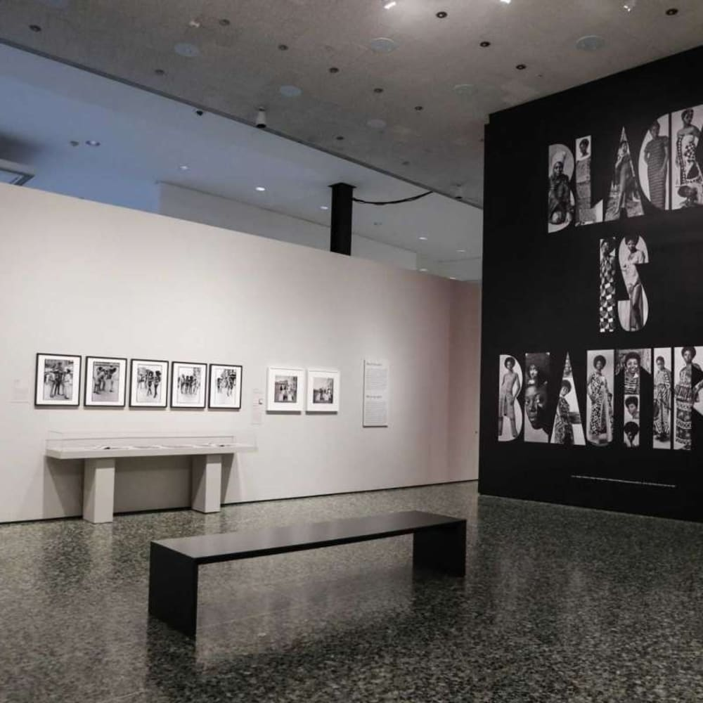 Icons of Style: A Century of Fashion Photography (2019) (installation view). Courtesy of Museum of Fine Arts, Houston.