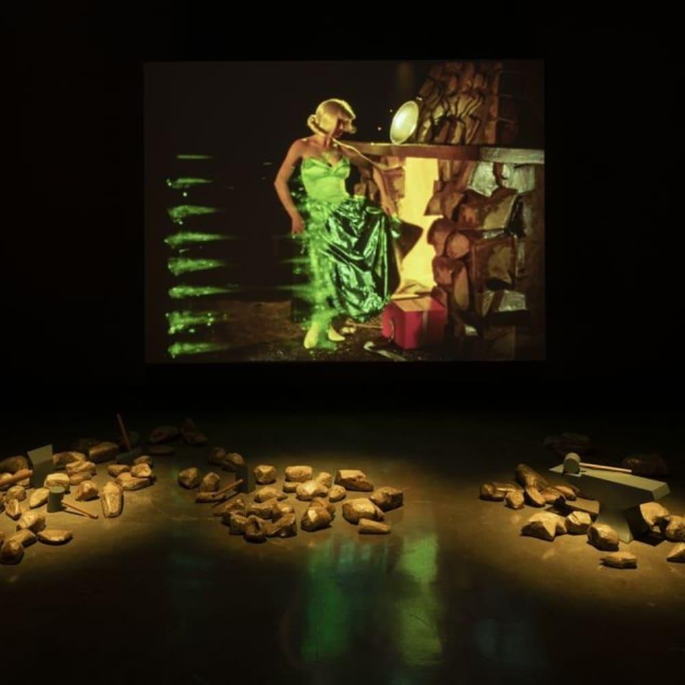 Ericka Beckman, Double Reverse (installation view) (2019). Photo: Peter Harris.
