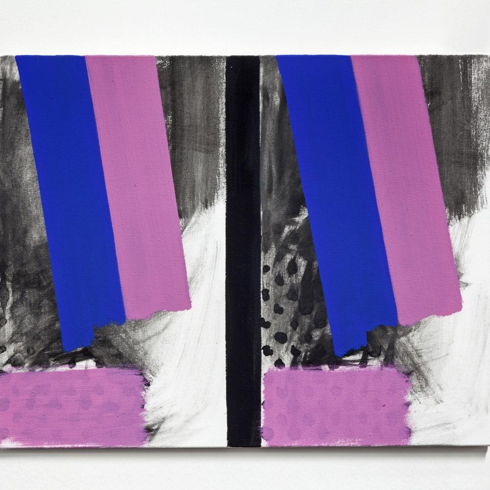 Bernard Piffaretti, Untitled (2015). Image courtesy of the artist and Philip Martin Gallery, Los Angeles.