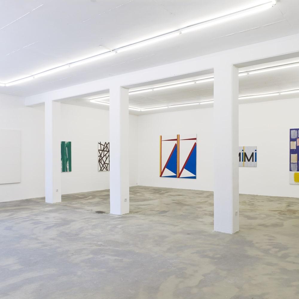 Bernard Piffaretti, Kontinuum (2019) (Installation view). Image courtesy the artist and Klemm's, Berlin.