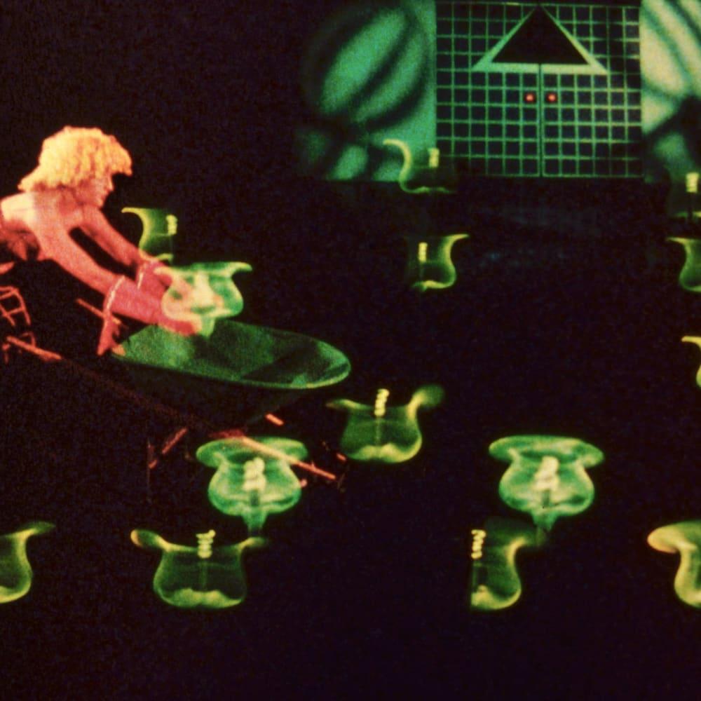 Ericka Beckman, Hiatus (film still) (1999). Image courtesy of the artist and Philip Martin Gallery, Los Angeles.