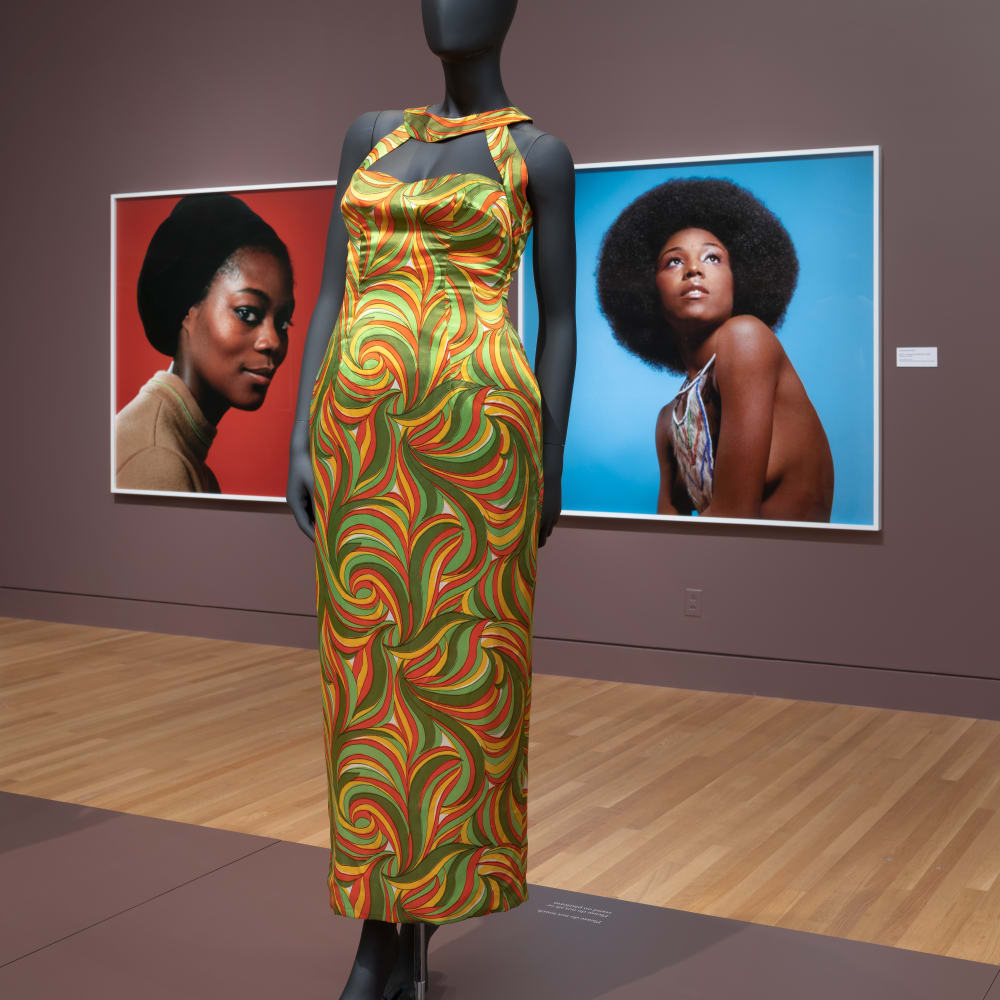 Kwame Brathwaite, Black Is Beautiful: The Photography of Kwame Brathwaite (2019) (installation view).