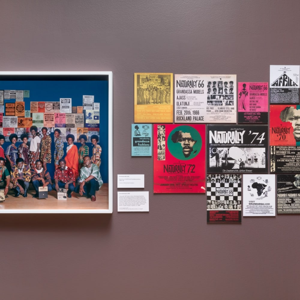 Kwame Brathwaite, Black Is Beautiful: The Photography of Kwame Brathwaite (2019) (installation view). Courtesy of the artist and Skirball Cultural...
