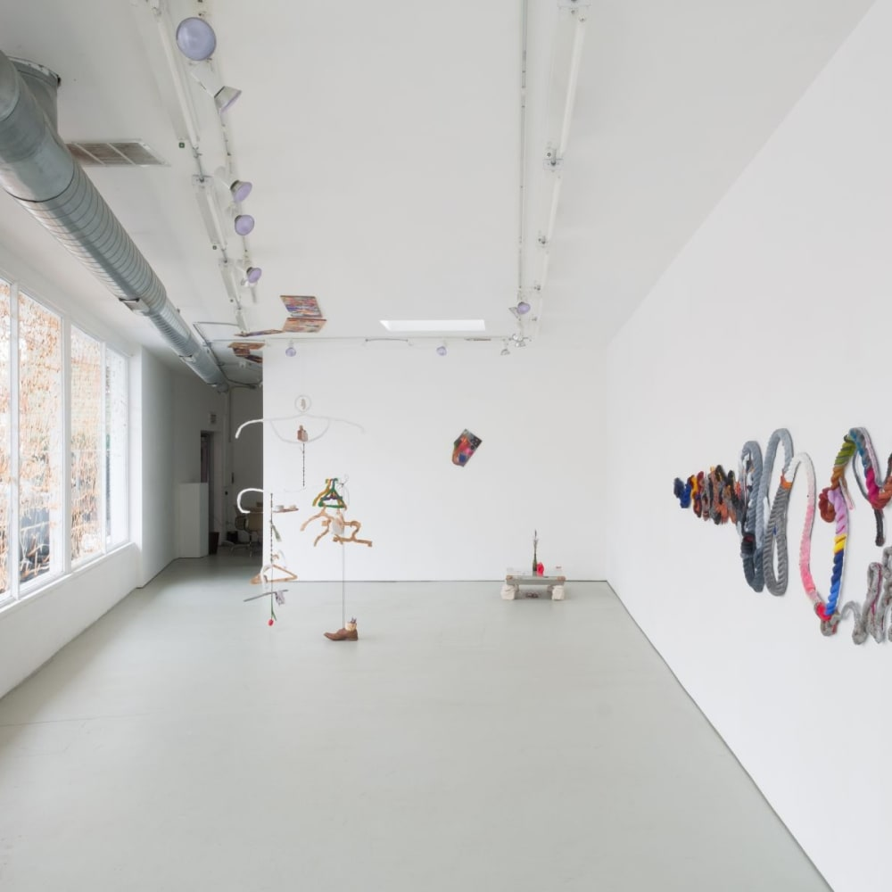 Katy Cowan and Scott Cowan, Left, Right, Left, Left (installation view) (2020). Photo: The Green Gallery.