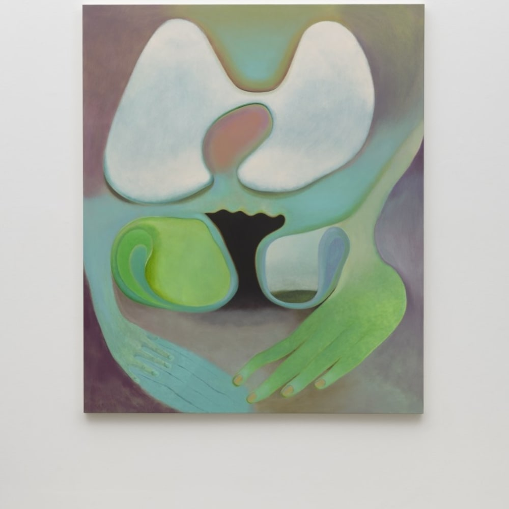 Kristy Luck, Soft Touch (2020). Oil on linen, 60 x 50 inches. Photo: Jeff McLane.