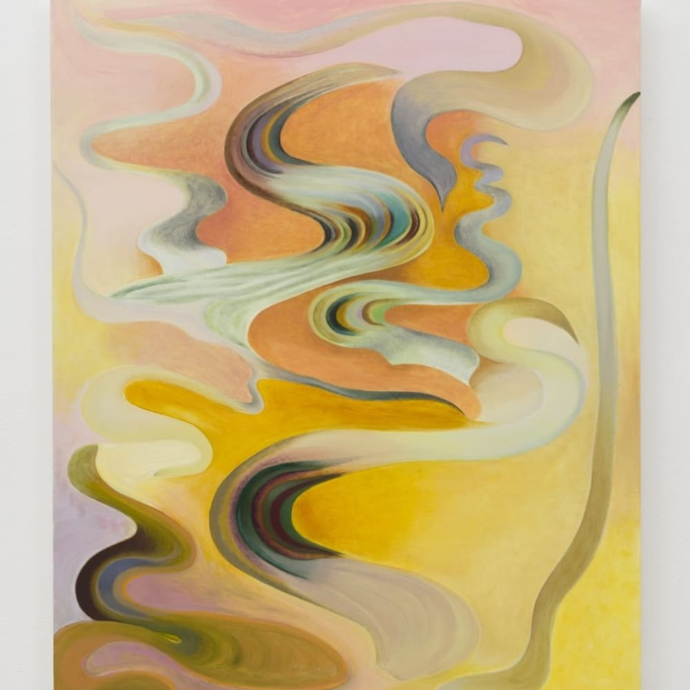 Kristy Luck, Fountain (2020). Oil on linen, 36 x 30 inches. Photo: Jeff McLane.