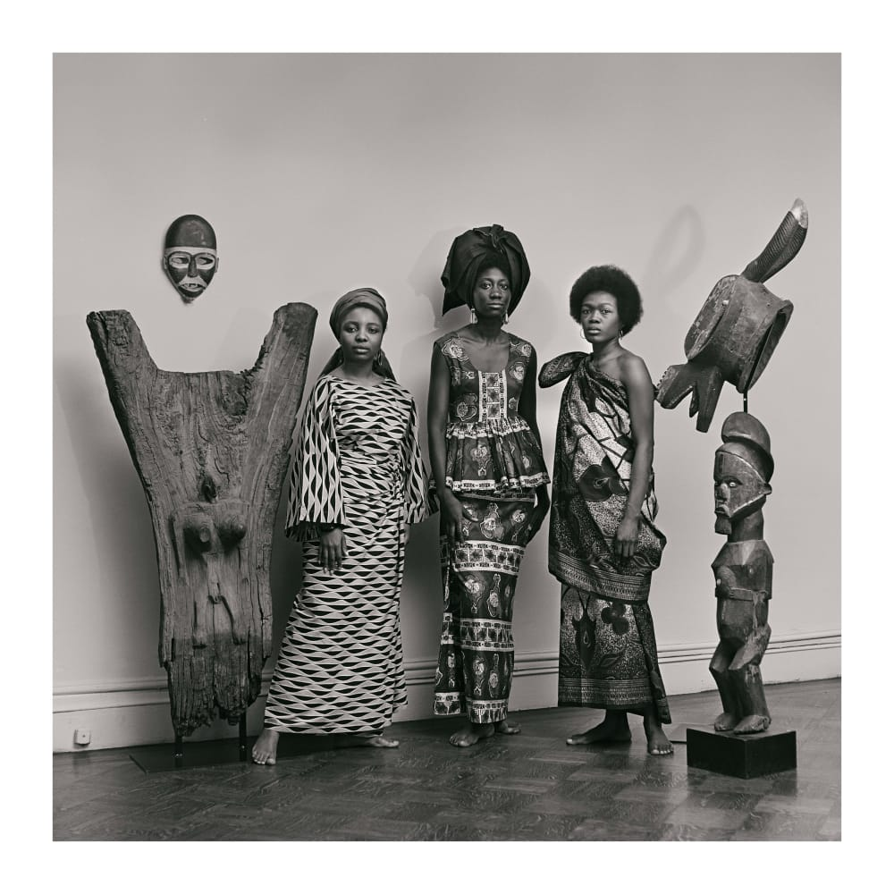 Untitled (Grandassa Models, Merton Simpson Gallery), 1966. Credit Kwame Brathwaite/Courtesy of Philip Martin Gallery, Los Angeles