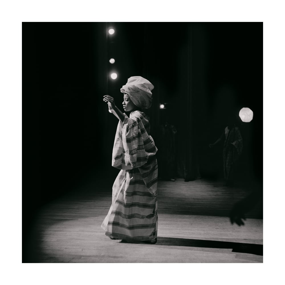 Untitled (Pat on Stage at Apollo Theater), 1968. Credit Kwame Brathwaite/Courtesy of Philip Martin Gallery, Los Angeles