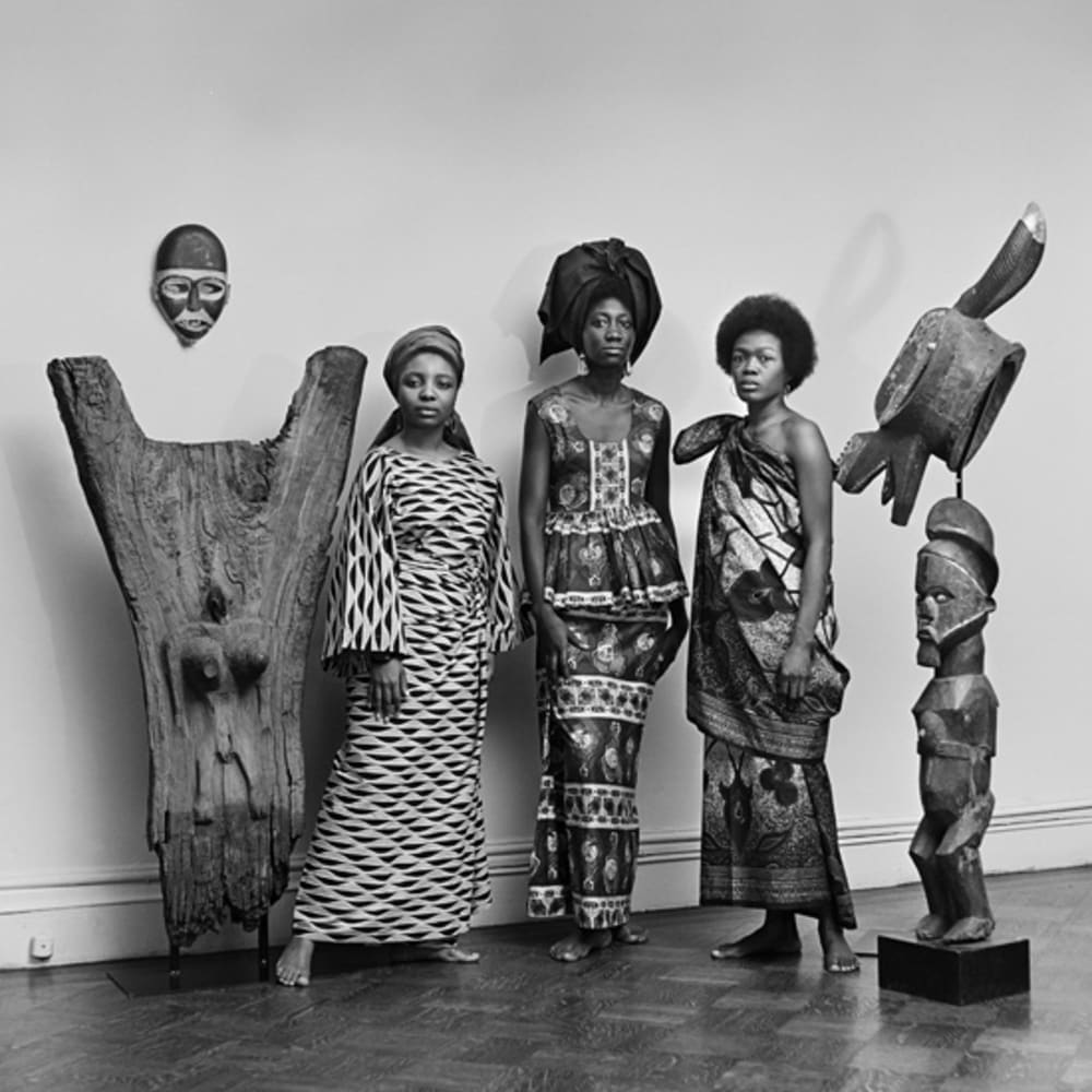 Kwame Brathwaite, Untitled (Grandassa Models, Merton Simpson Gallery) (1966). Image courtesy of the artist and Philip Martin Gallery, Los Angeles.