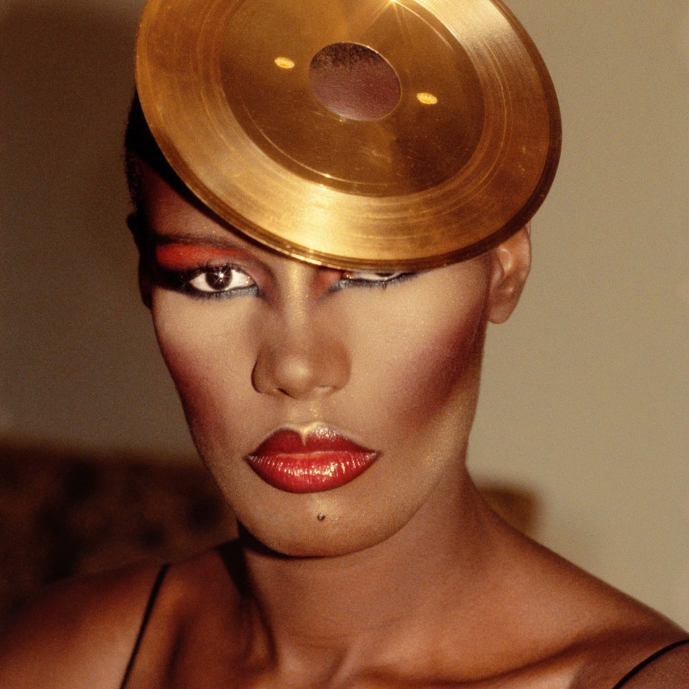 Kwame Brathwaite, Untitled (Grace Jones Photoshoot) (1980s). Image courtesy of the artist and Philip Martin Gallery, Los Angeles.