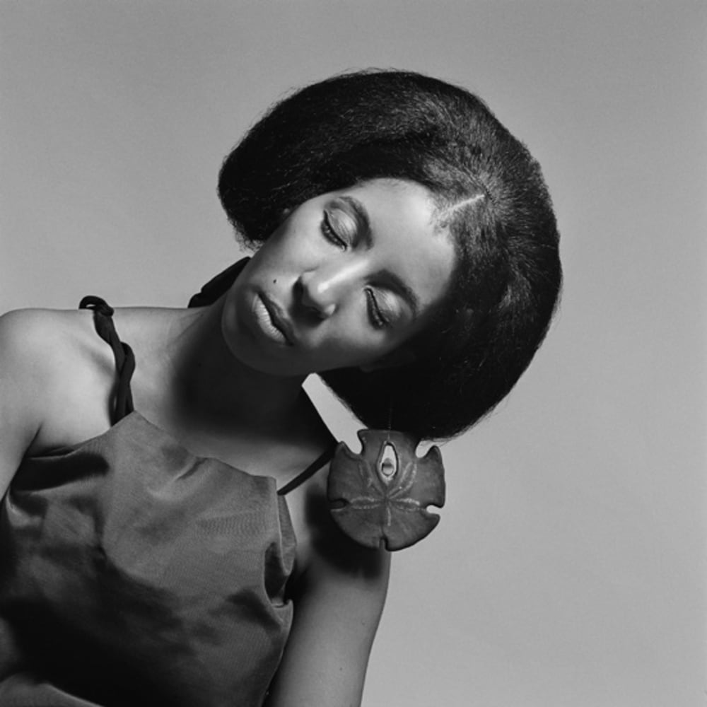 Kwame Brathwaite, Untitled (Carolee Prince wearing her own designs) (1966). Image courtesy of the artist and Philip Martin Gallery, Los Angeles.