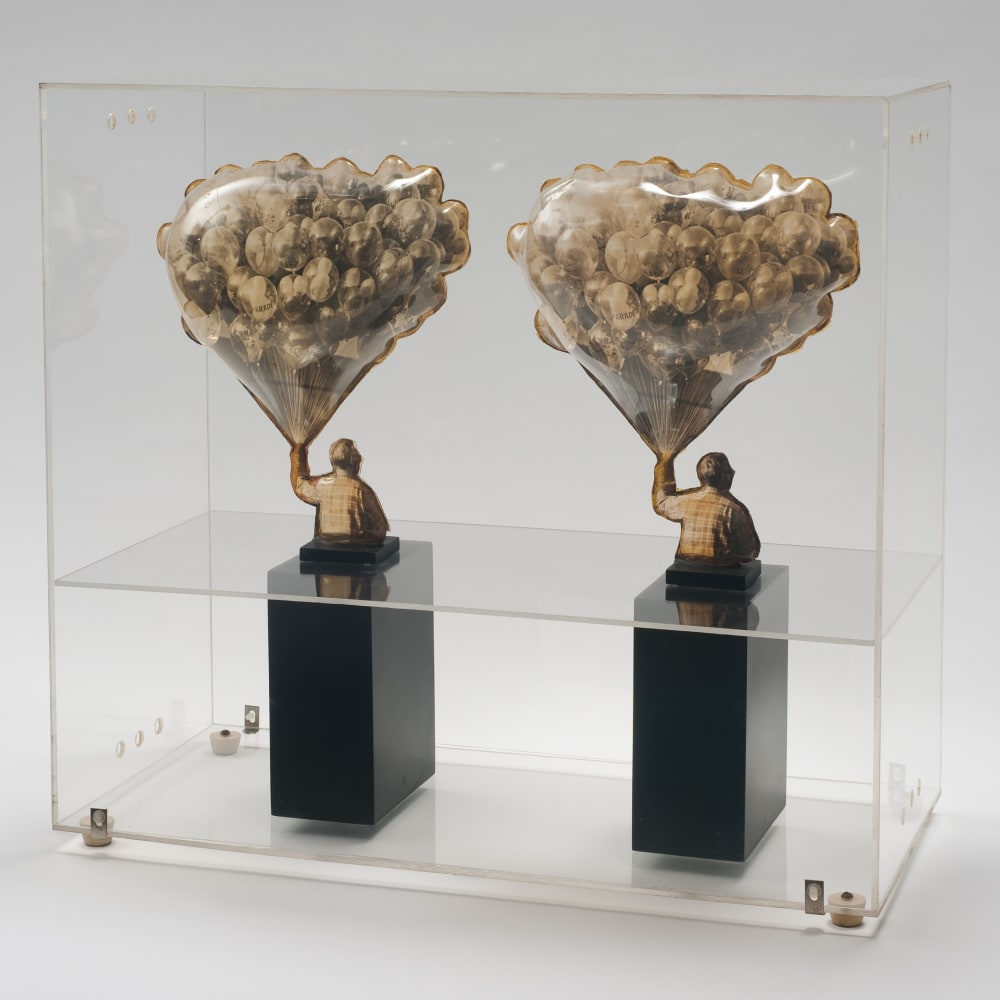Carl Cheng, Sculpture for Stereo Viewers (1968). Image courtesy of the artist and Philip Martin Gallery, Los Angeles.