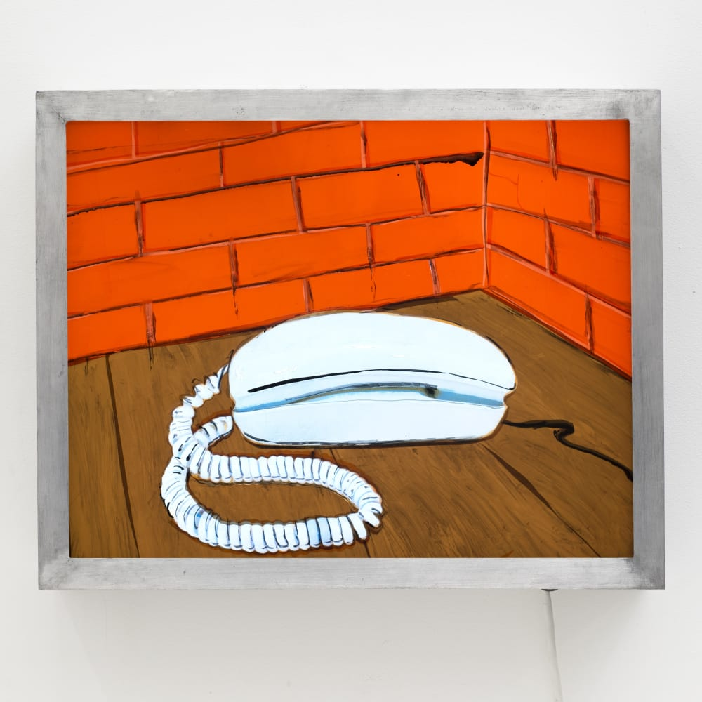 T. Kelly Mason, Aqua Blue Princess Telephone (2015). Image courtesy of the artist and Philip Martin Gallery, Los Angeles.