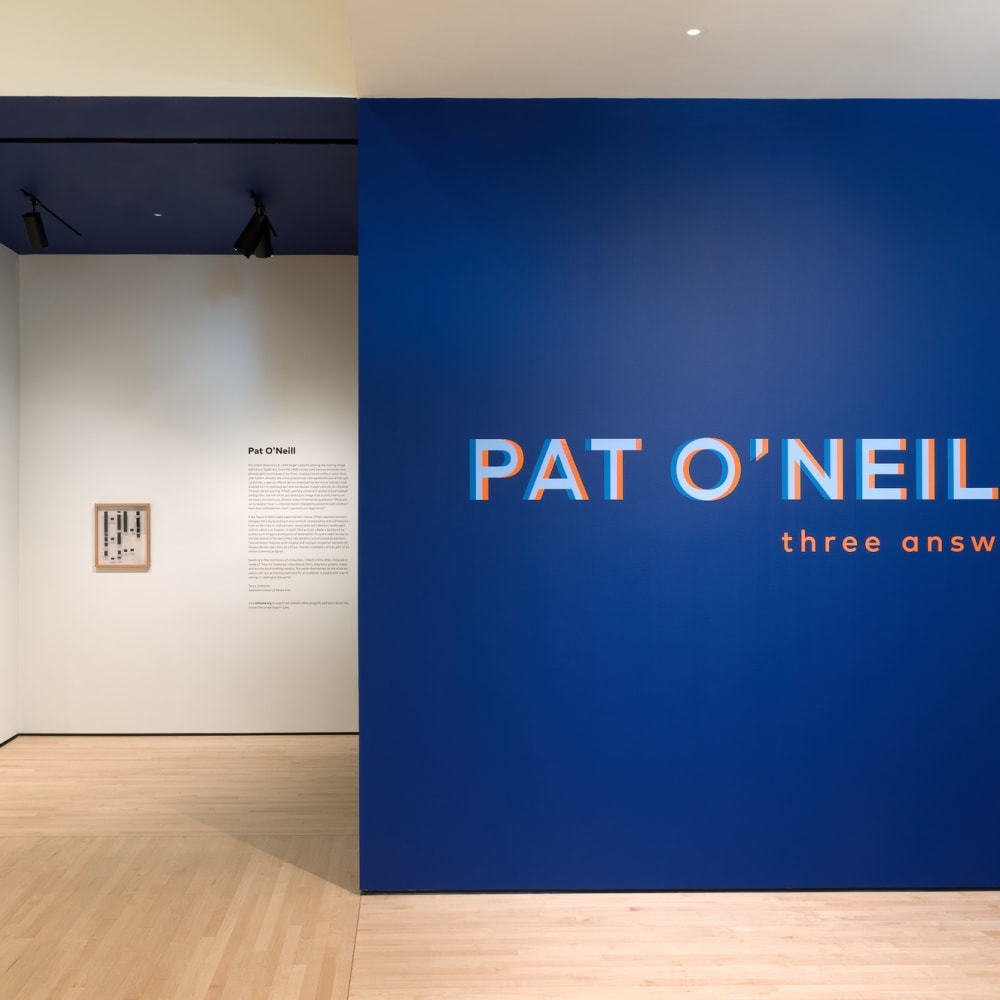 Pat O'Neill, Three Answers (2019) (installation view). Courtesy of San Francisco Museum of Modern Art, CA.