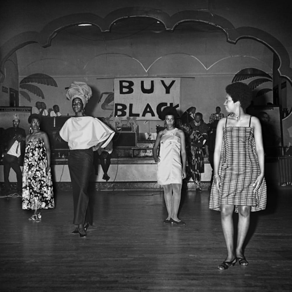 Kwame Brathwaite, Untitled (Fashion show at Renaissance Casino and Ballroom) (1967). Archival pigment print.