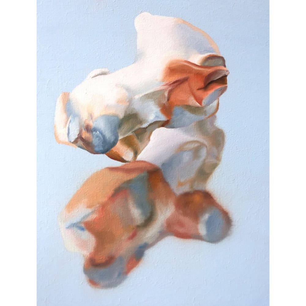 Maude Maris - Floating - 2019 - oil on canvas - 40 x 30 cm