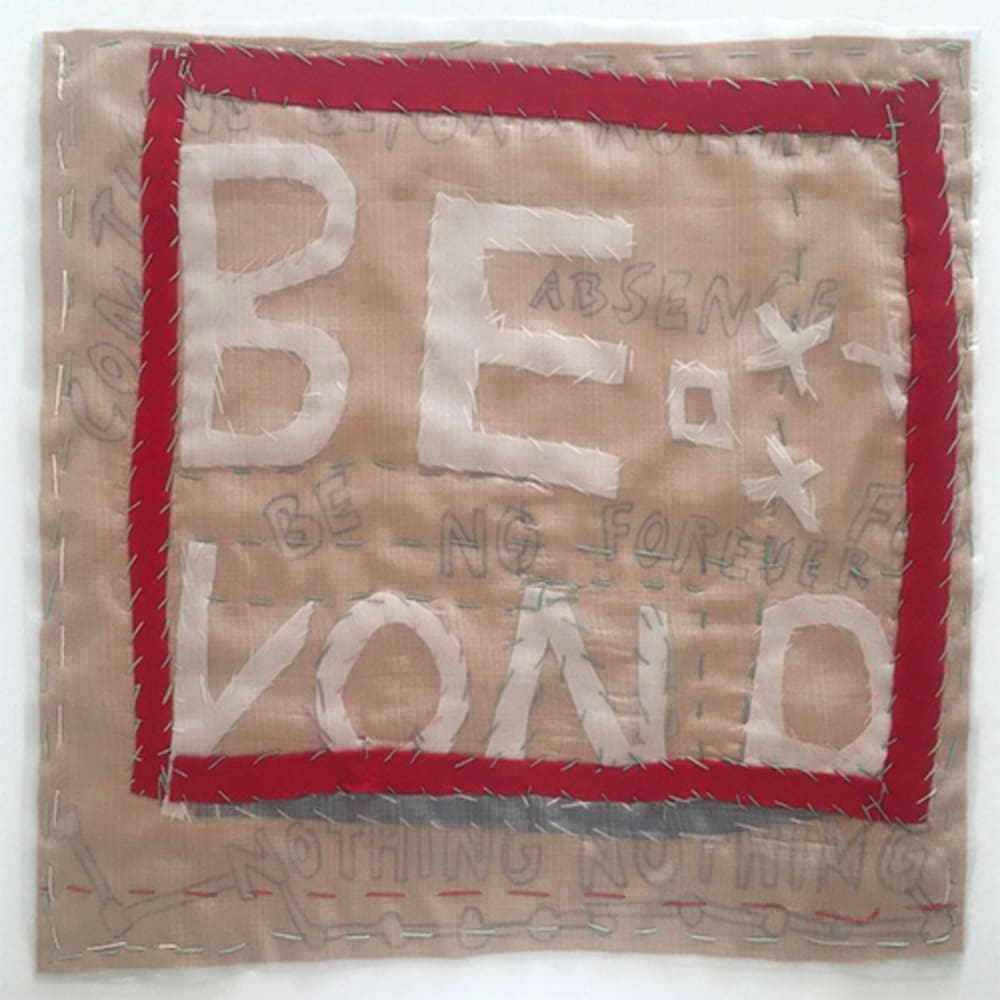 Beyond, 2019, Felt, Gaze, Thread, 61 x 66 cm