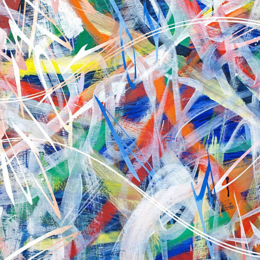 'Alliteration', 2018, oil on canvas, 172.5 x 233.5cm