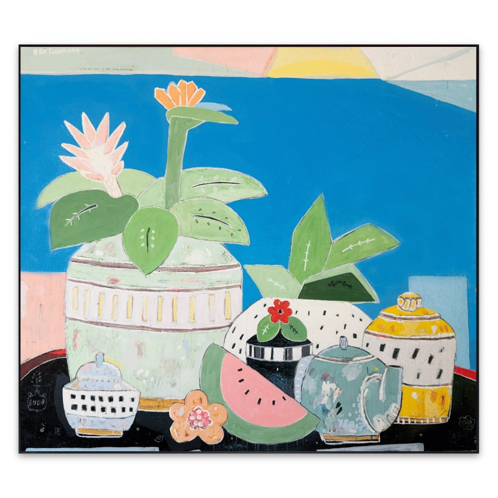 Rob Tucker, Lime and mint on fruit salad please, 2019
