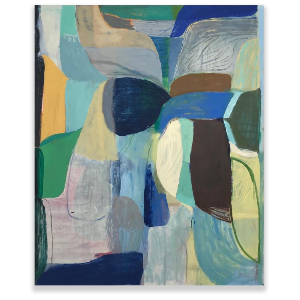 Terry Ekasala, Cristal River, 2019, oil on linen, 152.5 x 124.5cm