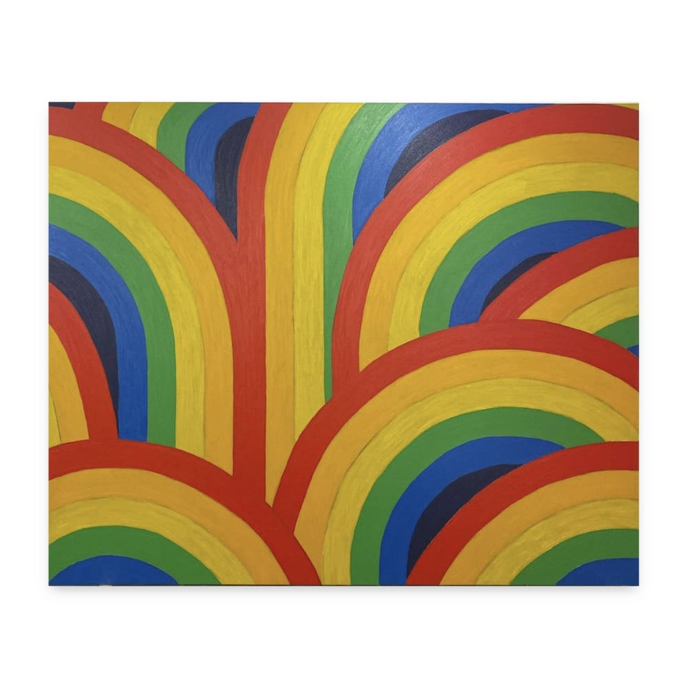 Bertrand Fournier Rainbows Field 3, 2019