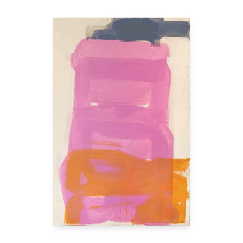 Yvonne Robert Vertical trio Pink, 2019
