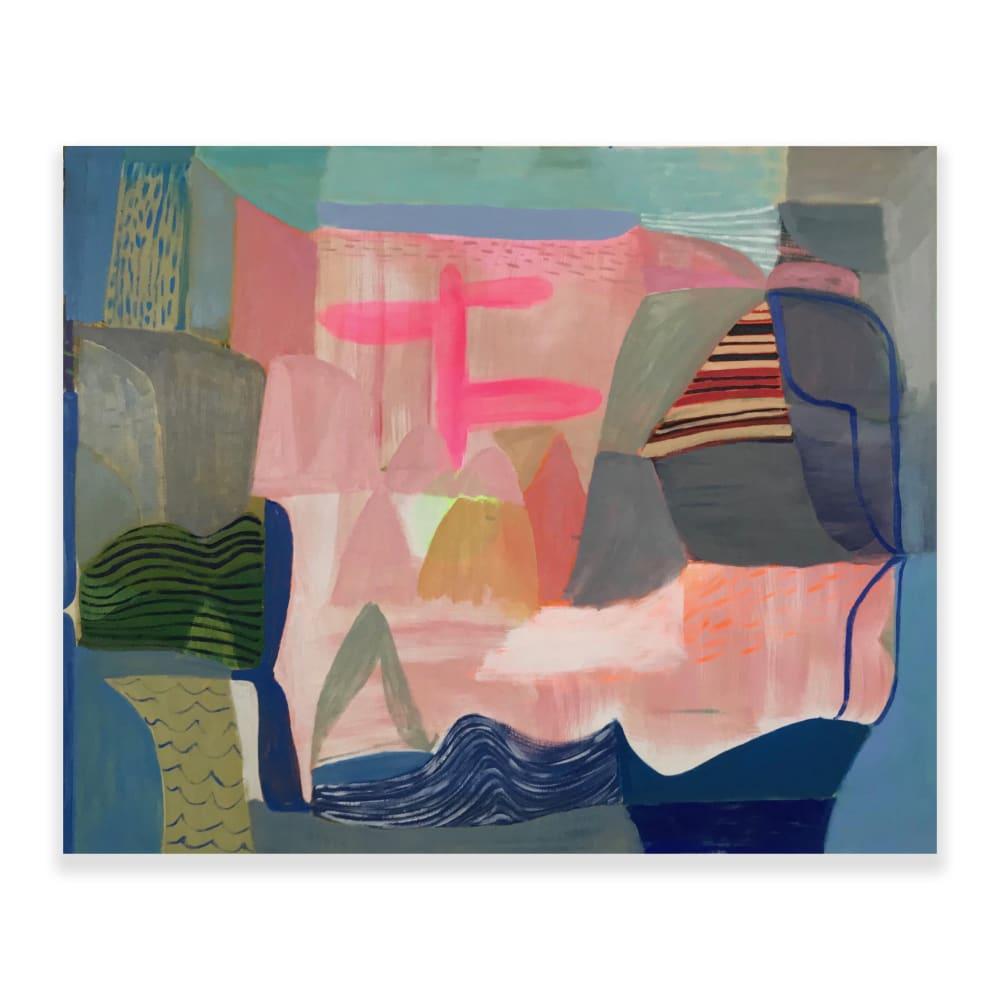 Terry Ekasala, The Thin Place, 2019, oil & acrylic on linen, 124 x 152.5cm