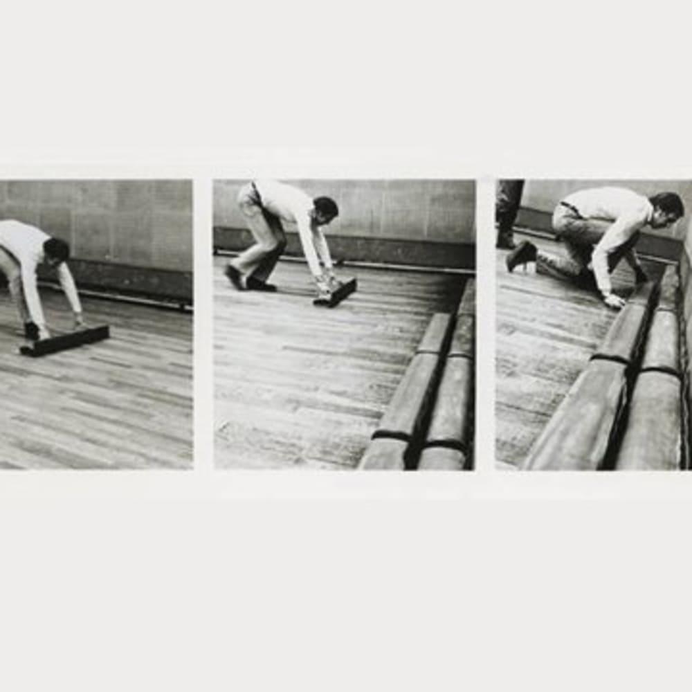 Roelof LOUW: Rolled Lead Piece 1970