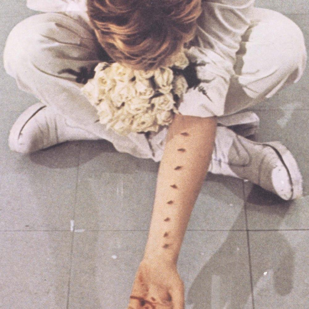Gina Pane, Azione Sentimentale, 1974
