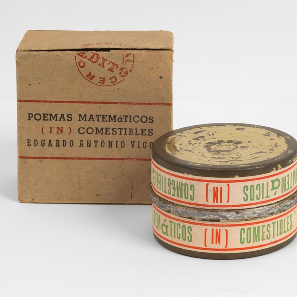 Poemas Matemàticos (In)comestibiles [(In)edible Mathematical Poems], 1968
