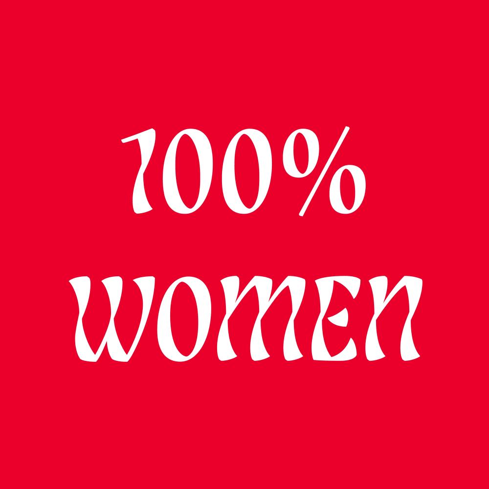 100% Women