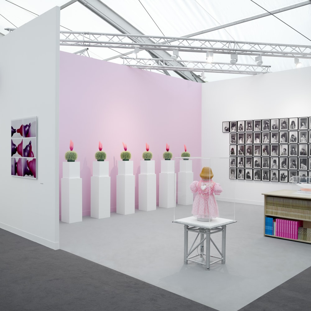 Installation view, Renate BERTLMANN at Frieze London 2017 - Sex Work: Feminist Art & Radical Politics. Photo by Peter Mallet.