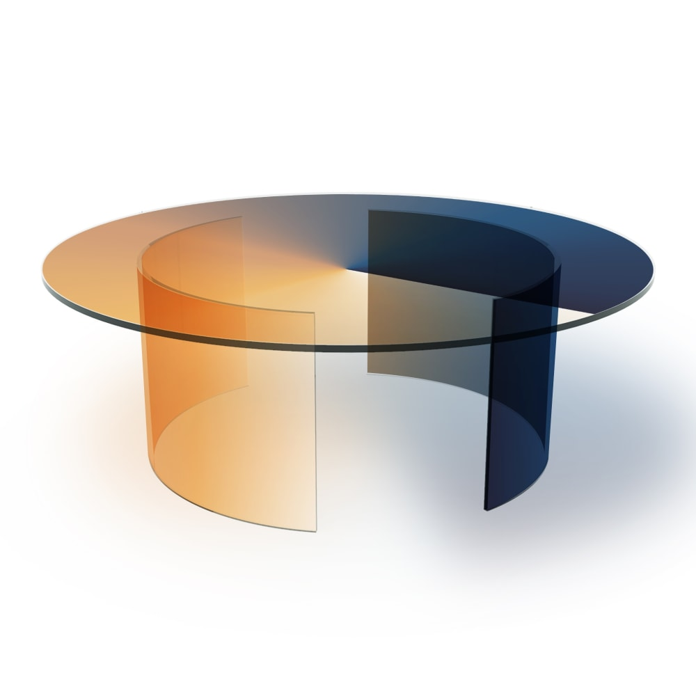 Rive Roshan Colour Dial Table, Sunrise Light, 2020