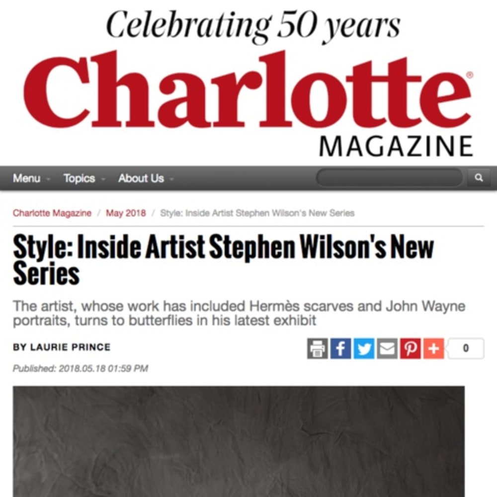 Style: Inside Artist Stephen Wilson's New Series